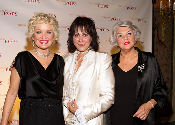 Christine Ebersole, Michele Lee, and Tyne Daly