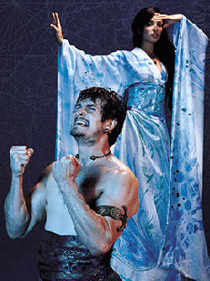 Jonathon Goad and Nazneen Contractorin The Adventures of Pericles