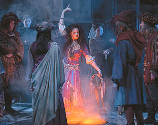 Jennifer Gould as Esmeralda in The Hunchback of Notre Dame