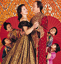 Lucy Peacock and Victor Talmadgein The King and I