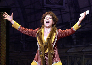 Ana Gasteyer in Funny Girl(Photo © Matt Polk)