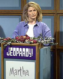 It's a Good Thing!Gasteyer as domestic guru Martha Stewarton Saturday Night Live