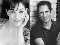 Leslie Kritzer and Seth Rudetsky