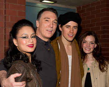 T.V. Carpio, Patrick Page, Reeve Carney, and Jennifer Damiano(© Tristan Fuge)