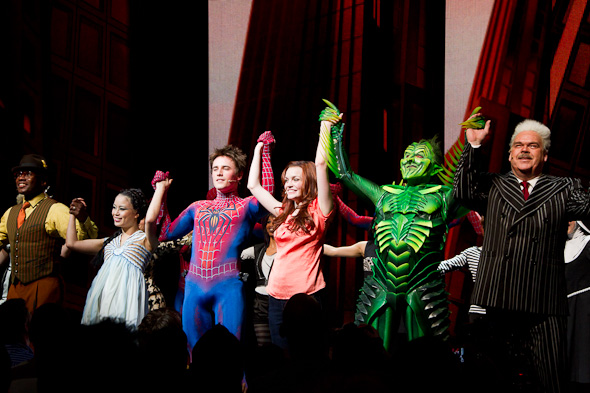 The cast takes their final  bow