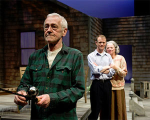 John Mahoney, Thomas J. Cox, and Rondi Reed