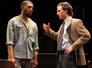 Dion Graham and Sebastian Arcelus