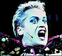 Sweet transvestite:Tom Hewitt as Frank 'N' Furterin The Rocky Horror Show