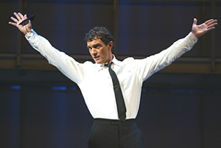 All Hail the Great and Powerful Guido!Antonio Banderas in Nine(Photo © Joan Marcus)