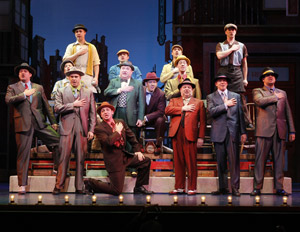A scene from 5th Avenue Theatre's Guys and Dolls