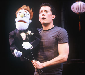 Rod and John Tartaglia in Avenue Q(Photo © Carol Rosegg)