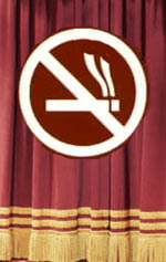 The new law forbids onstagesmoking in NYC theaters