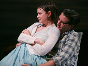 Carey Mulligan and Jason Butler Harner