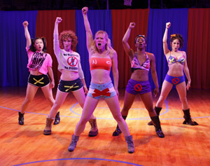 Katie Boren, Lindsay Chambers, Patti Murin, LaQuet Sharnell,