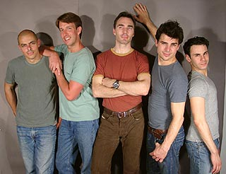The manly cast of Just Us Boys(Photo &copy; Carmen Einfinger)