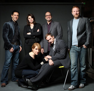 Michael Berresse, Heidi Blickenstaff, Larry Pressgrove,
