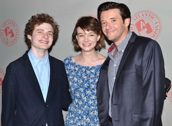 Ben Rosenfeld, Carey Mulligan, and Jason Butler Harner