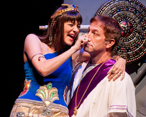 Erika Amato and Bruce Sabath in The Sphinx Winx