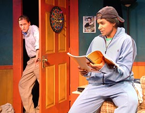Brenda Withers and Mindy Kaling in Matt & Ben(Photo © Robert Zash)
