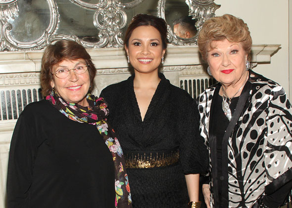 Helen Reddy, Lea Salonga, and Marilyn Maye(© Tristan Fuge)