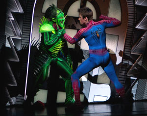 Patrick Page and Reeve Carney in