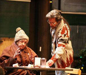 Kathryn Joosten and Gary Cole in Superior Donuts (© Michael Lamont)
