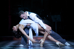 Vincent Simone and Flavia Cacace in Midnight Tango (© Manuel Harlan)