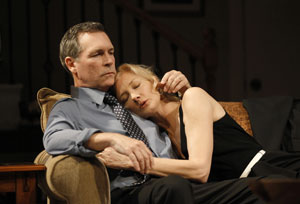 Cotter Smith and Joely Richardson in Side Effects