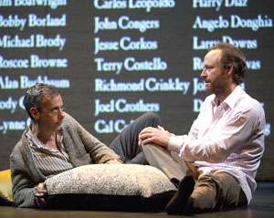 Joe Mantello and John Benjamin Hickey