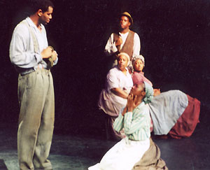 The cast of Slavery(Photo &copy; Ron Williams)