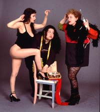 Jaid Barrymore, Christine Nardone,and Kendall March in Dressing Room