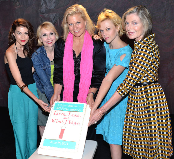 Ashley Austin Morris, Julie Halston, Emme, Emily Bergl, and Susan Sullivan