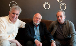 David Thompson, Hal Prince, and Jerome Sirlin