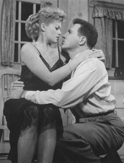 There once was a man who loved a woman:Janis Paige and John Raitt in The Pajama Game(PhotoFest)