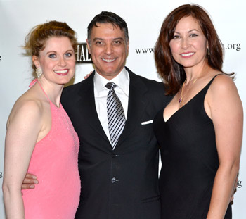 Christiane Noll, Robert Cuccioli, and Linda Eder