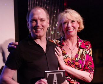 Charles Busch and Julie Halston (© Marcus Wilim for the New York Innovative Theatre Awards)