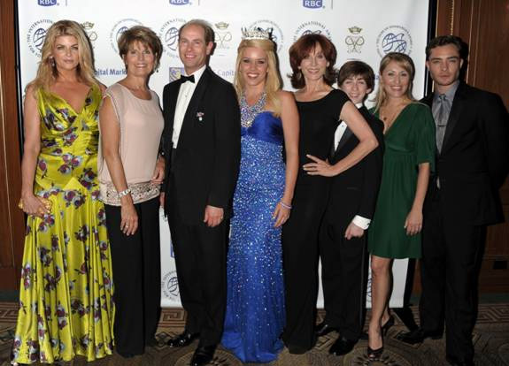 Kirstie Alley, Lucie Arnaz, Prince Edward, Teresa Scanlan, Marilu HennerJacob Clemente, Liz Pearce, and Ed Westwick