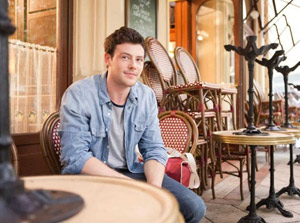 Cory Monteith in Monte Carlo