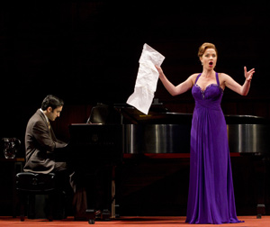 Jeremy Cohen and Sierra Boggess in Master Class (© Joan Marcus)