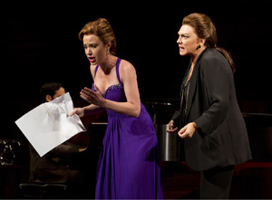 Sierra Boggess and Tyne Daly in Master Class