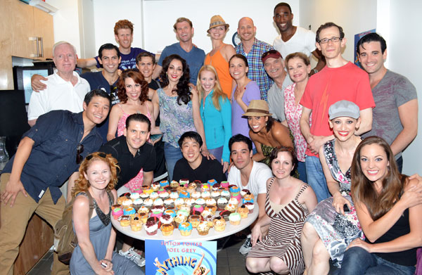 The cast of Anything Goes