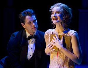 Julian Ovenden and Jill Paice in Death Takes a Holiday