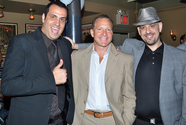 Lior Kalfo, Steve Guttenberg, and Shai Fishman