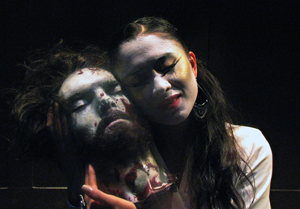 Chris Ryan and Karina Fernicola-Ikezoe in