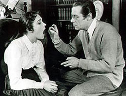 By George, they got it!Rex Harrison and Broadway newcomerJulie Andrews made Shaw's Pygmalion sing