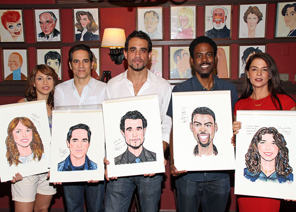 The company features Bobby Cannavale as Jackie, Chris Rock as Ralph D, ...