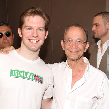 Rory O'Malley and Joel Grey