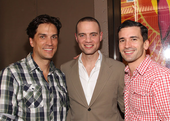 WIll Swenson, Jordan Roth, and Paris Remillard