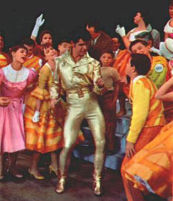 Dick Gautier and cast in the originalBroadway production of Bye Bye Birdie