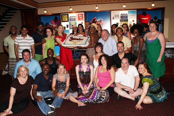 The cast of Sister Act the Musical